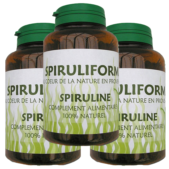 Spirulina Brushwoods 300g (3 months treatment)