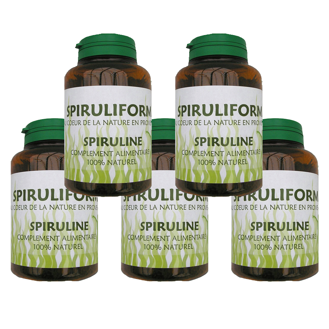Spirulina 900 capsules (6 months treatment)
